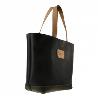 Custom Full Leather Shopper Bag